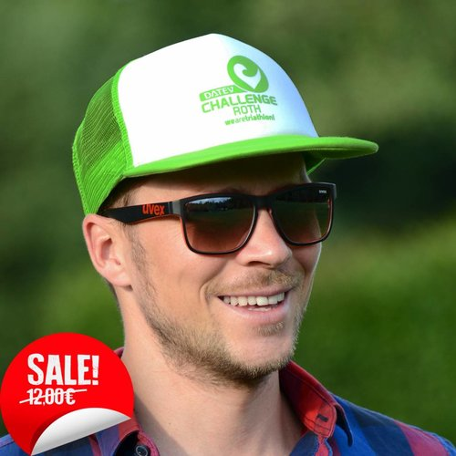 Challenge Roth Retro Cap Lime/White