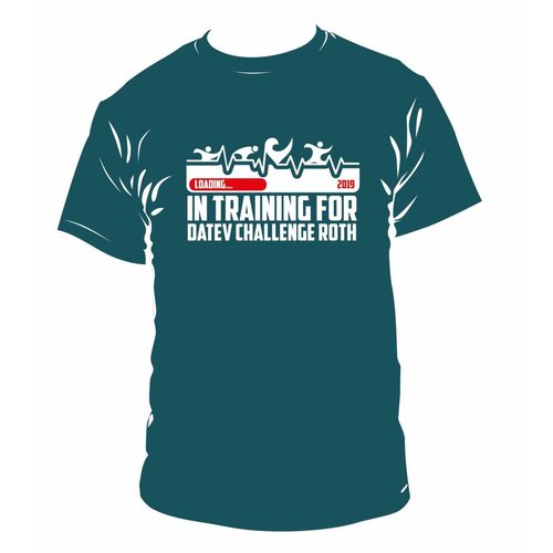 "Challenge Roth T-Shirt ""In training for 2019"""