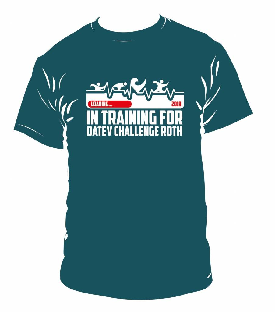"Challenge T-Shirt ""In training for 2019""-4"