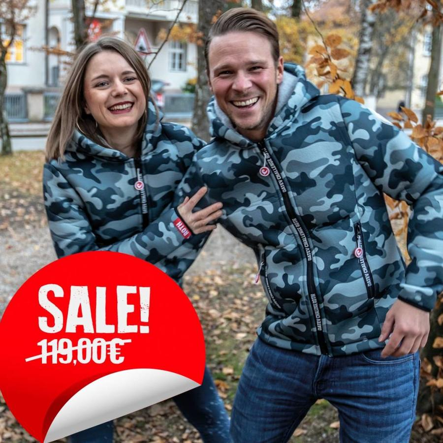 "Challenge Roth Thermo Jacke ""Camouflage"""
