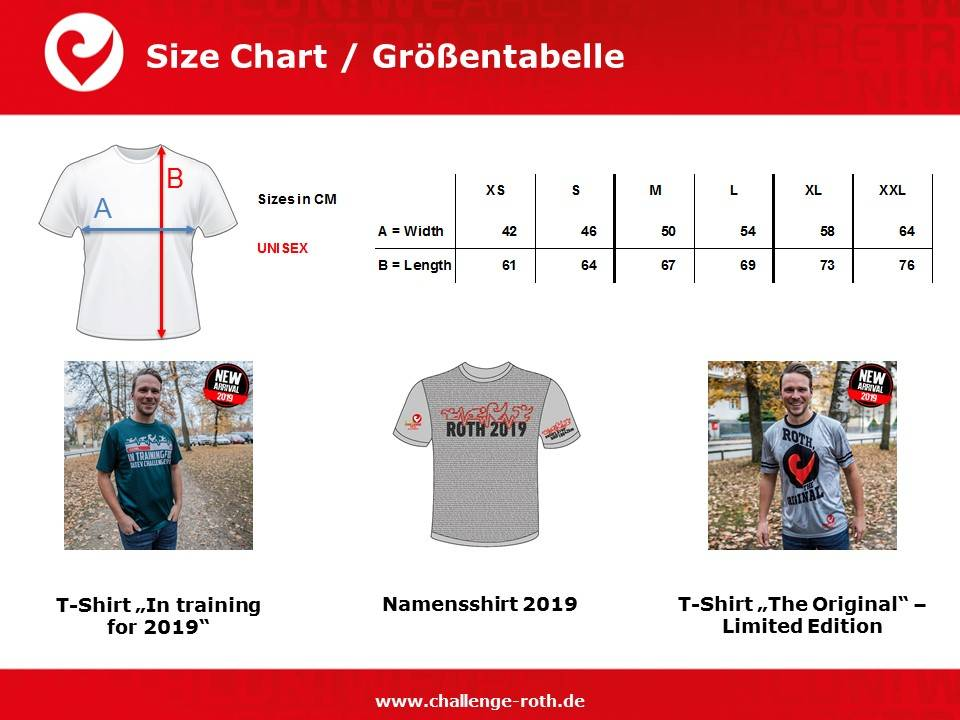 "Challenge T-Shirt ""In training for 2019""-6"