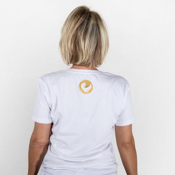 """Challenge Roth Women T-Shirt """"Golden Heart - Size L"""