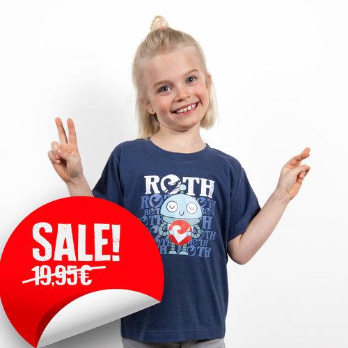 Challenge Roth Kids-Shirt Robot