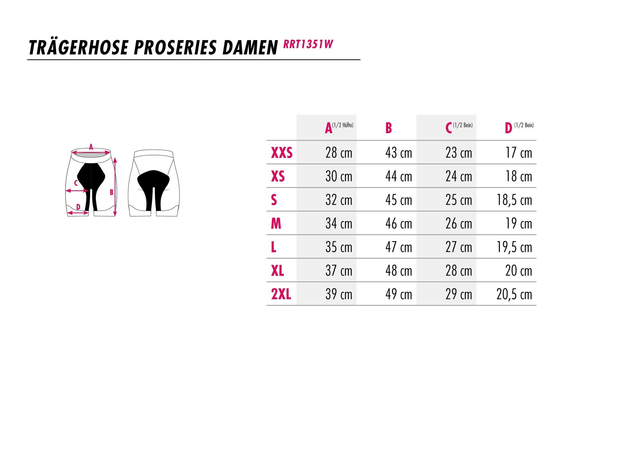 Damen-Radhose Flowerpower-3