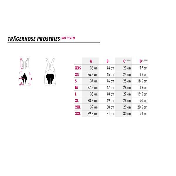 RenéRosa Performance-Radhose Longdistance