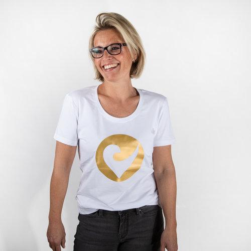 """Challenge Roth Damen T-Shirt """"Golden Heart"""" - Size L"""