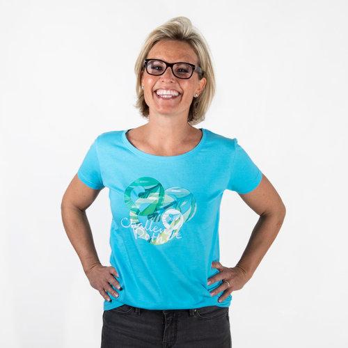 "Challenge Roth Damen T-Shirt ""Hawaii"" - Size L"