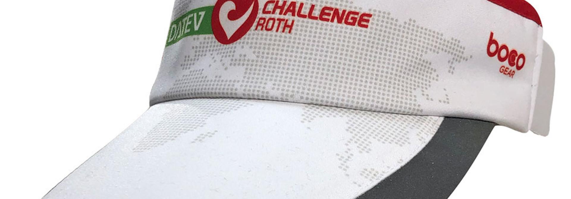 Visor white Heart of the Triathlon World