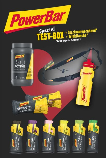 Limited Edition - PowerBar Test-Package 2021