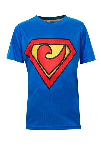 Kinder Shirt Superhero