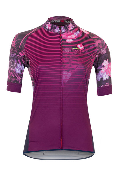 Damen-Ultimate-Radtrikot Flowerpower