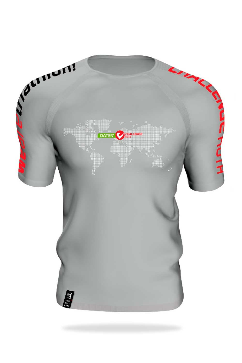 Compression Shirt Heart of the Triathlon World-1