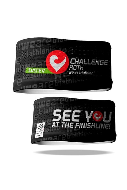Compressport Headband schwarz 2021
