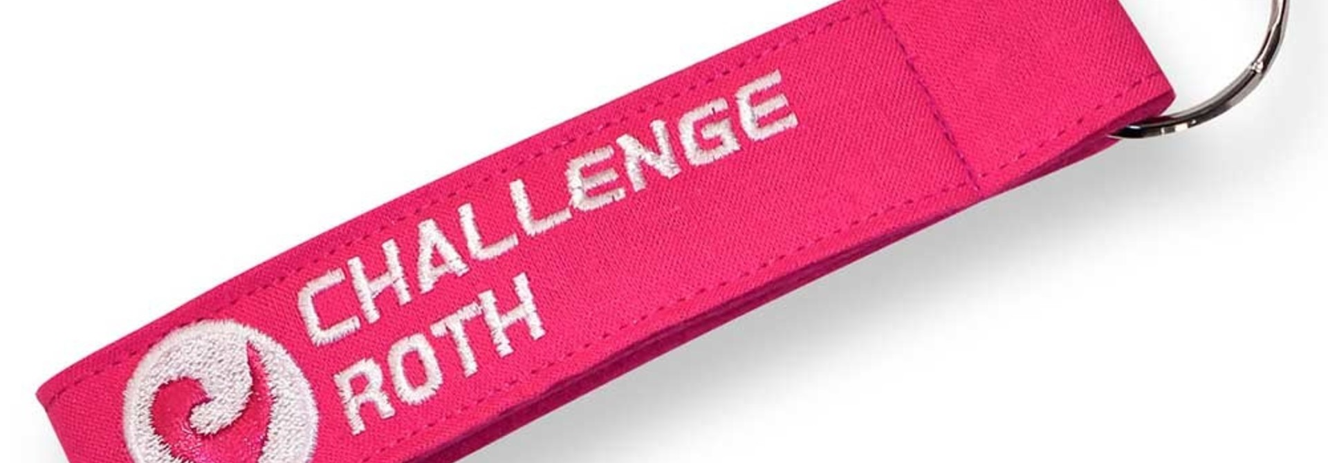 Challenge Key Chain in Pink