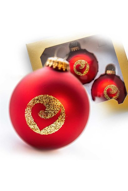 Christmas Baubles Set of 3