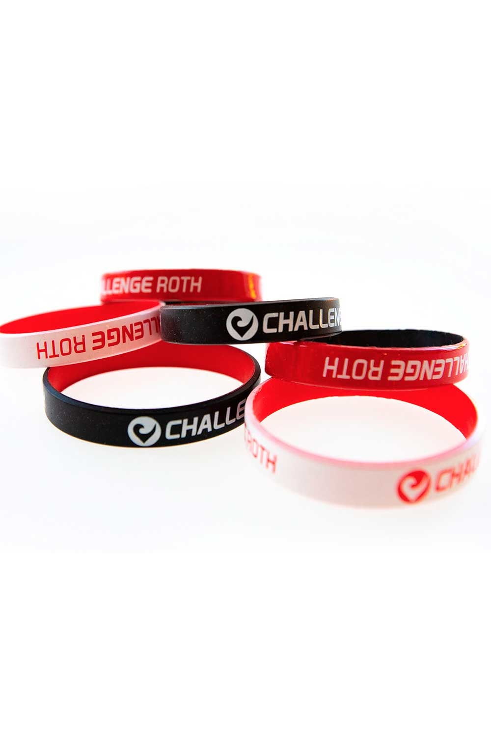 Wristband Challenge Roth white-red-2