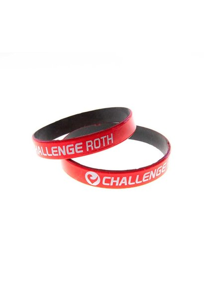 Armband Challenge Roth rot-schwarz
