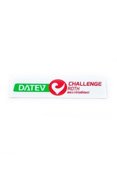 Aufkleber Logo DATEV Challenge Roth quer