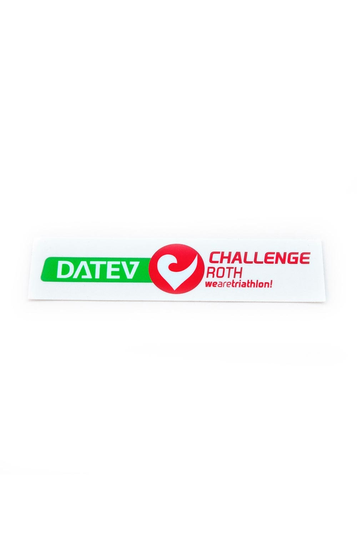 Sticker Logo DATEV Challenge Roth horizontal-1