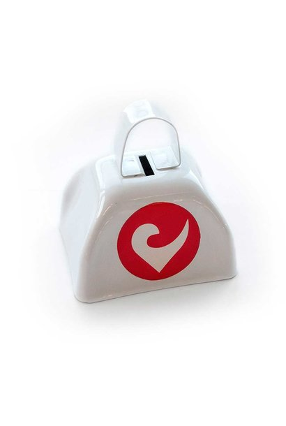 Supporter-Cowbell white