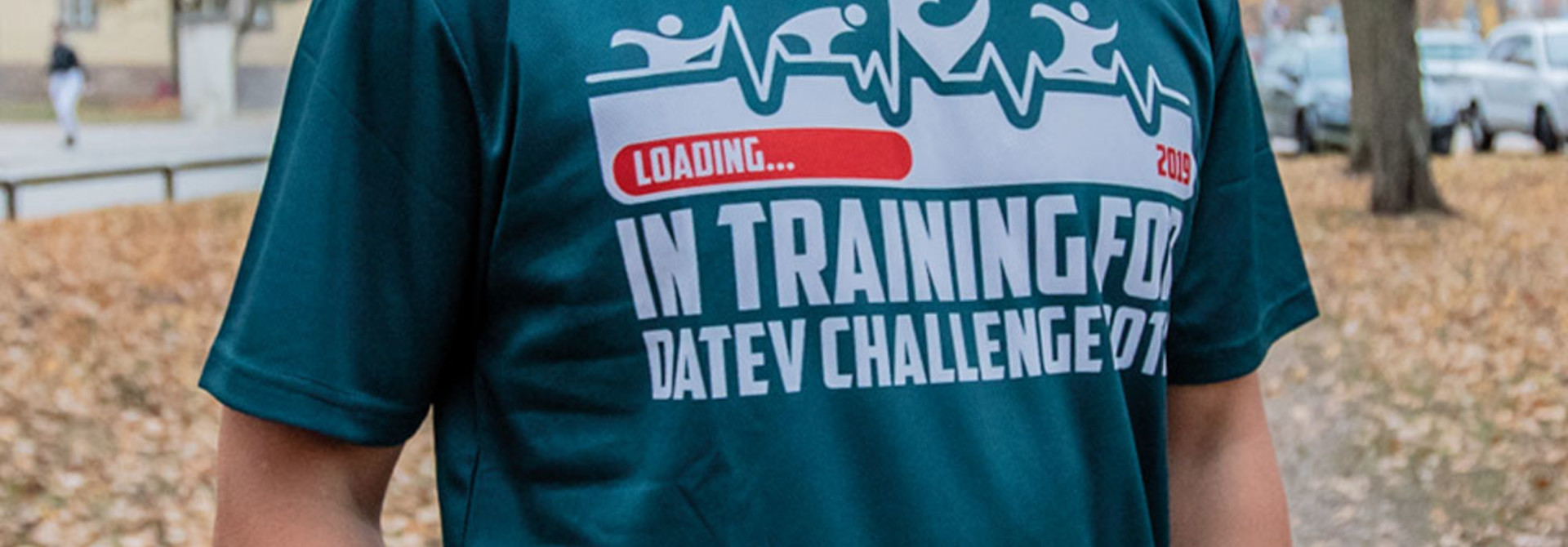 "Challenge T-Shirt ""In training for 2019"""