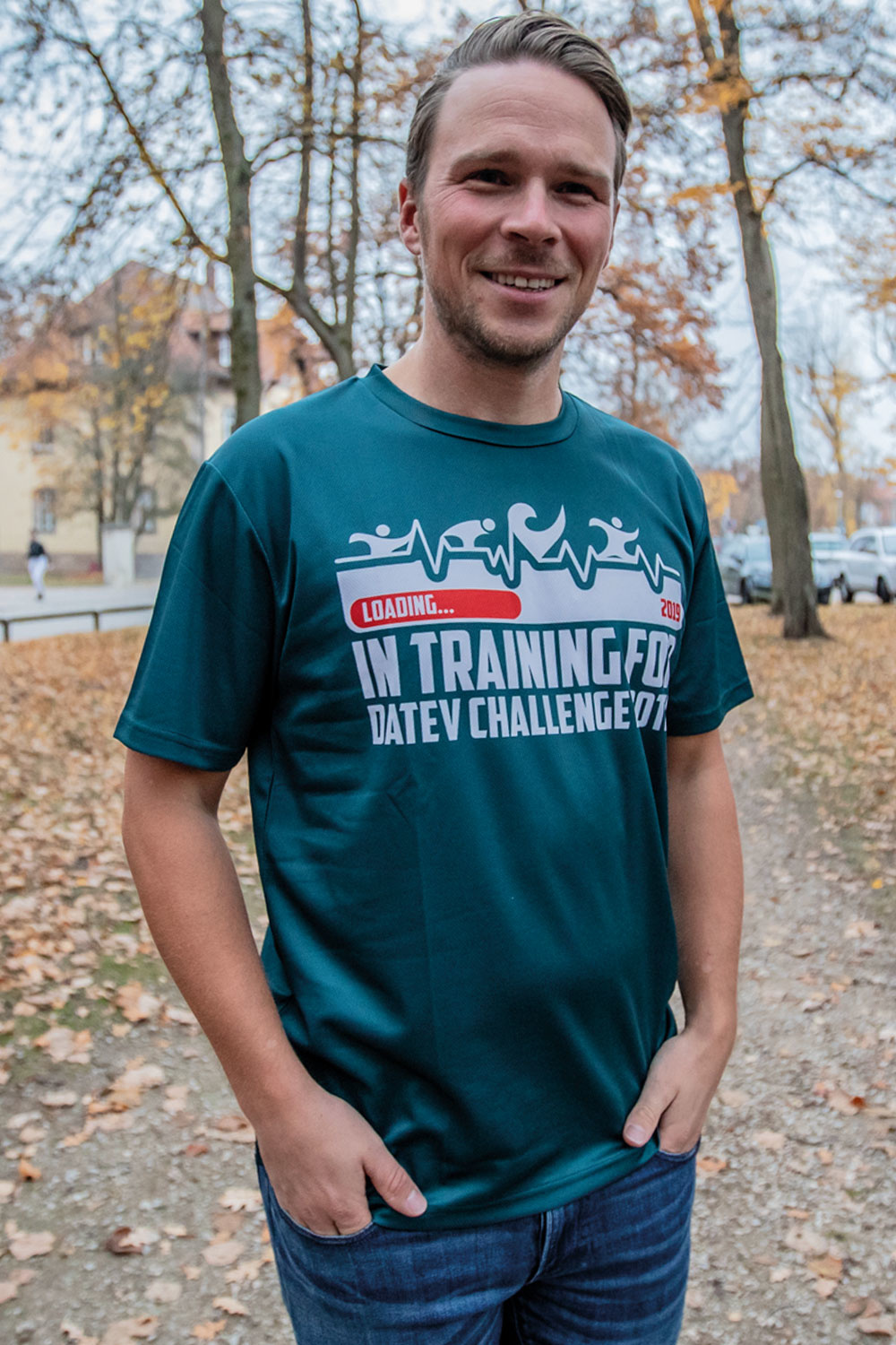 "Challenge T-Shirt ""In training for 2019""-1"