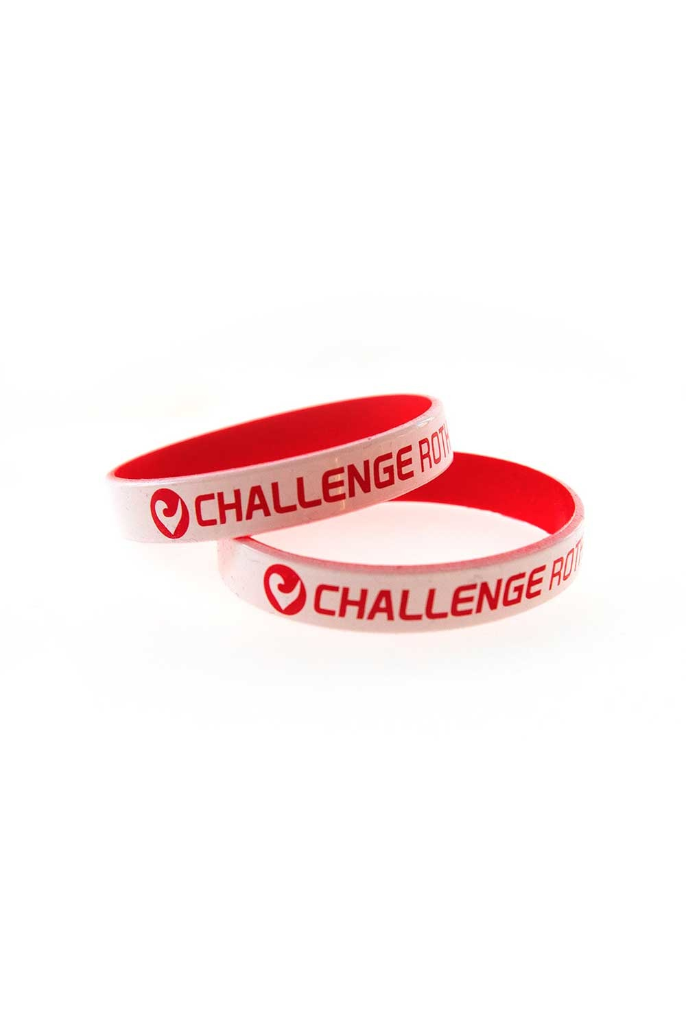 Wristband Challenge Roth white-red-1