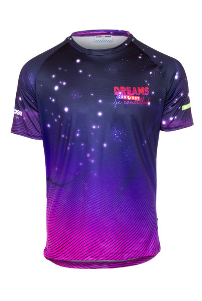Kurzarm Laufshirt Dreams cannot be cancelled