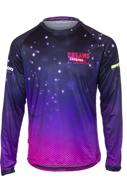 Longsleeve Running Shirt Dreams cannot be cancelled