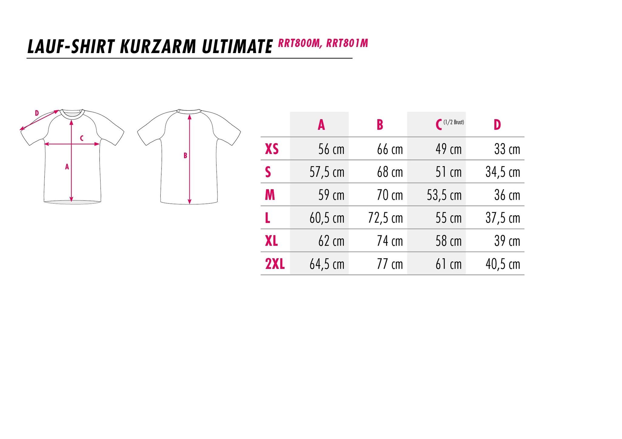 Shortsleeve Running Shirt Boost-3