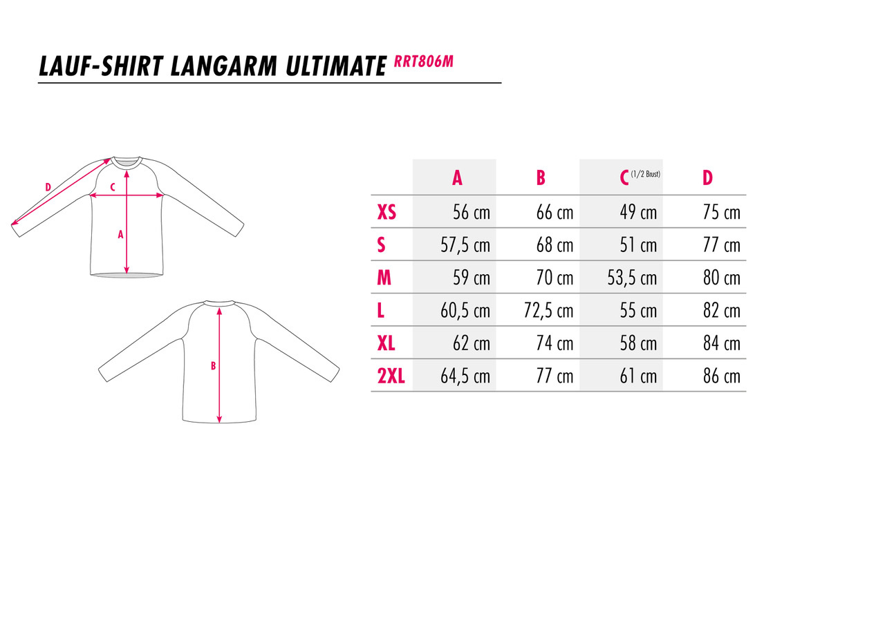 Langarm Laufshirt Dreams cannot be cancelled-3