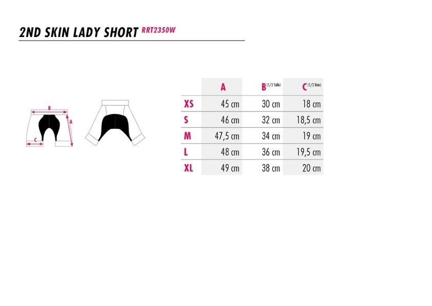 Ladies Bike Shorts Spirit-4