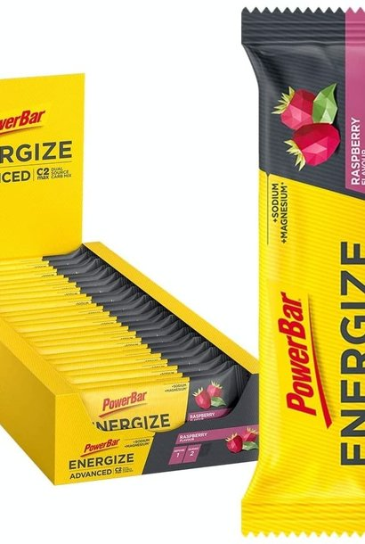 best-before date  7/21: 25x PowerBar Energize Advanced - Rasperry