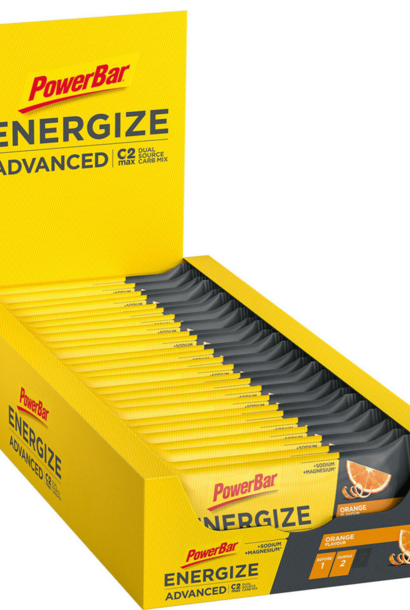 MHD 7/21: 25x PowerBar Energize Advanced - Orange