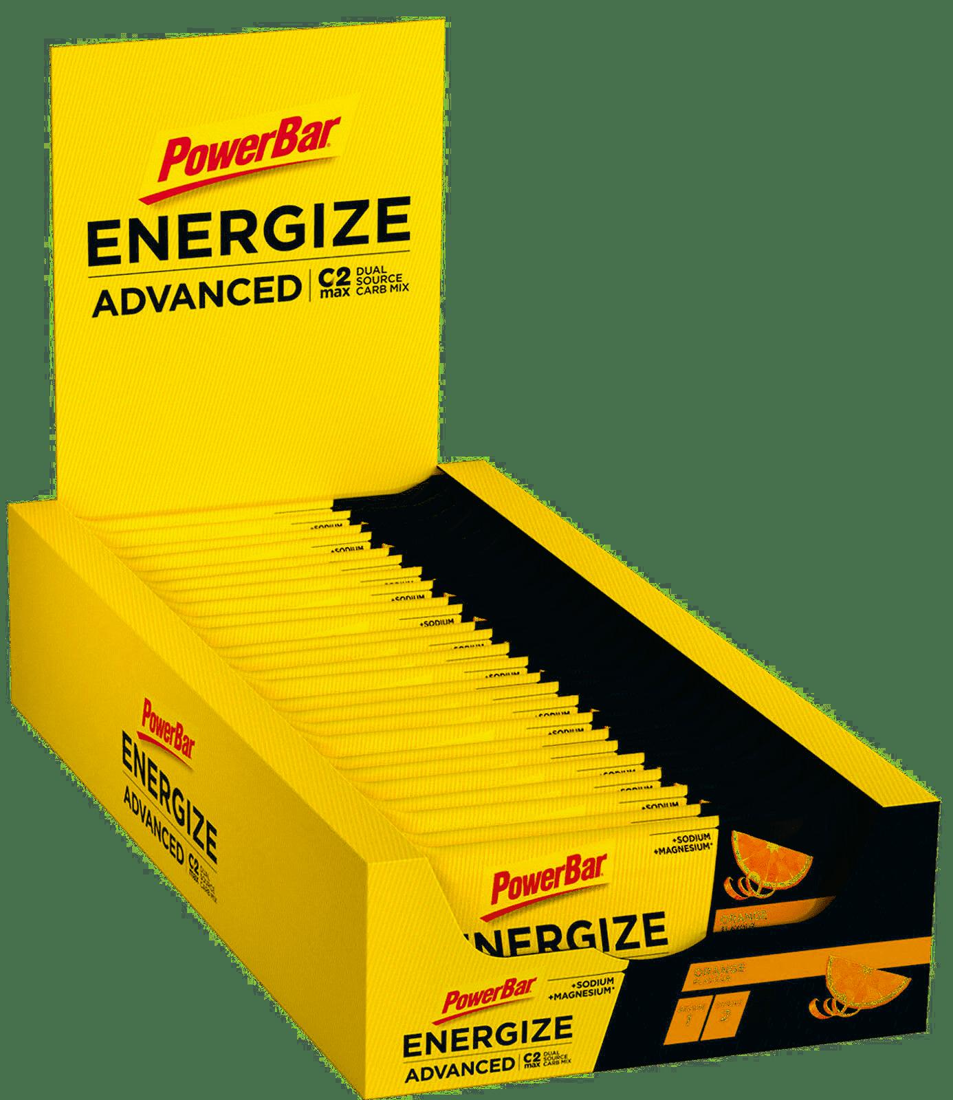 MHD 7/21: 25x PowerBar Energize Advanced - Orange-1