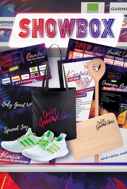 Only Good Vibes Show Box
