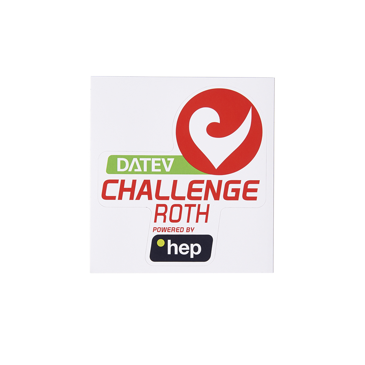 Sticker DATEV Challenge Roth powered by hep small-3