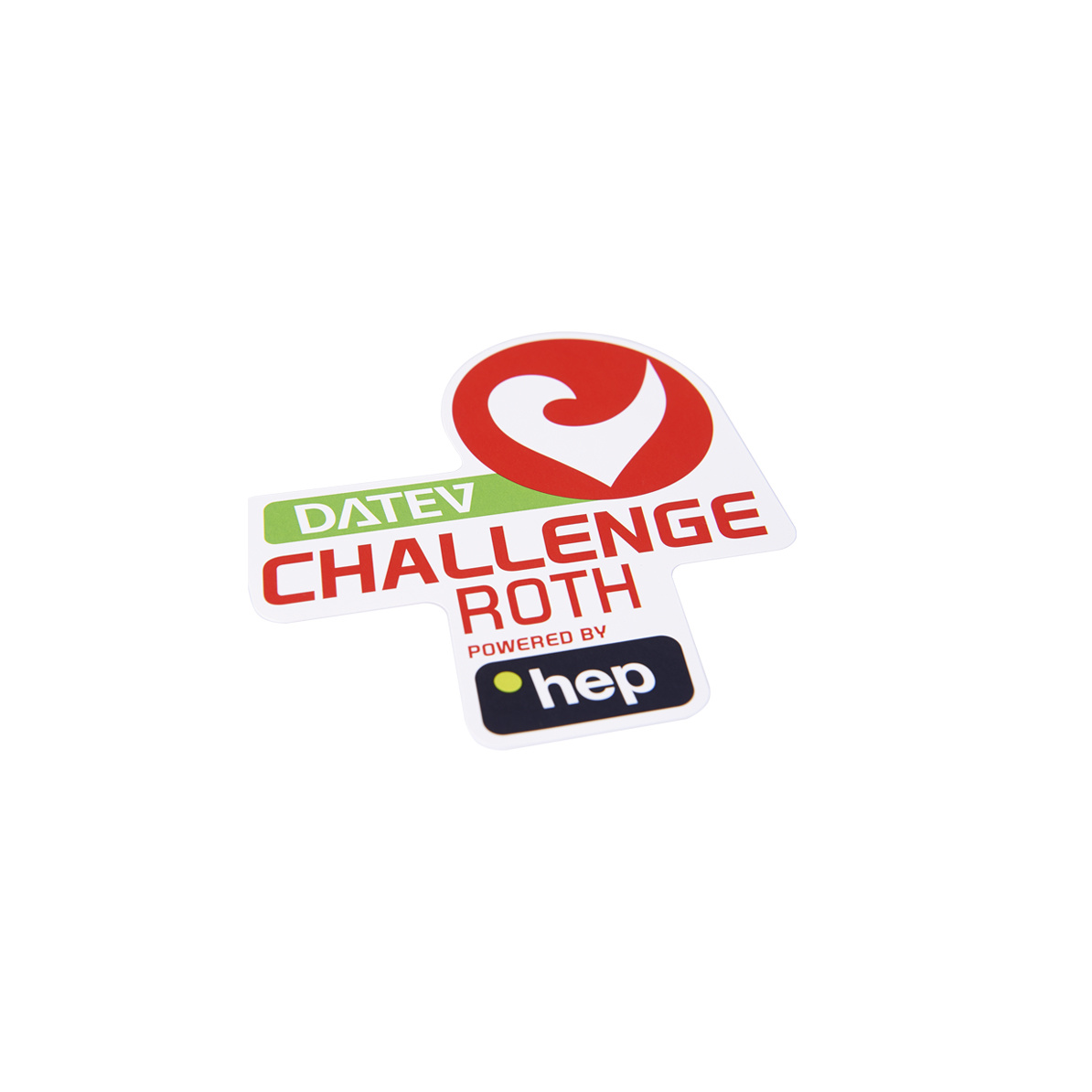Sticker DATEV Challenge Roth powered by hep small-2
