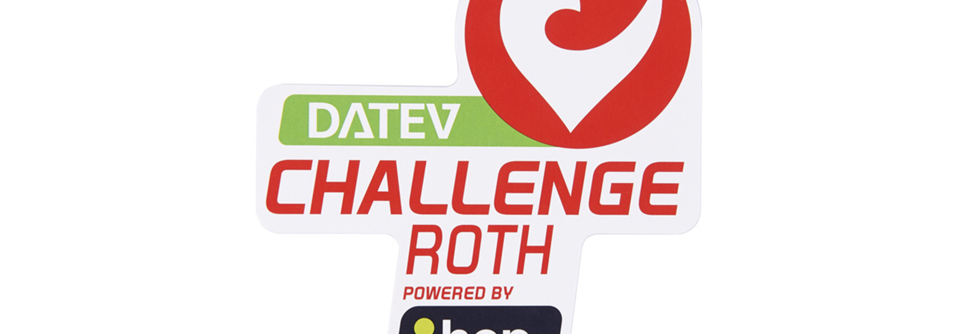 Sticker DATEV Challenge Roth powered by hep small