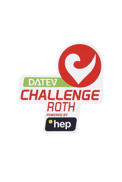 Aufkleber DATEV Challenge Roth powered by hep klein