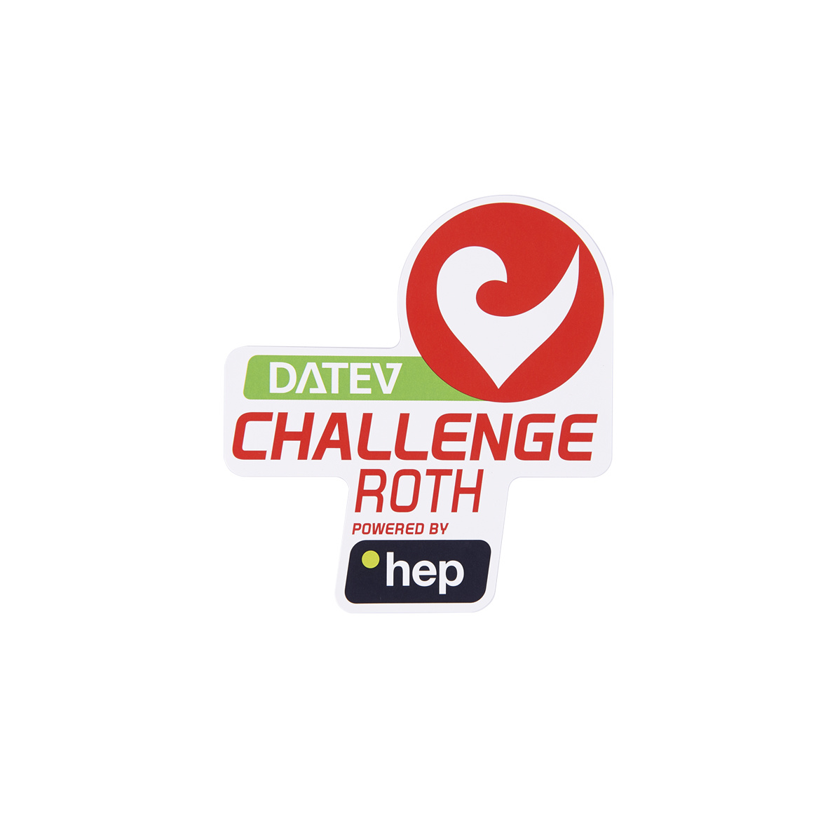 Sticker DATEV Challenge Roth powered by hep small-1