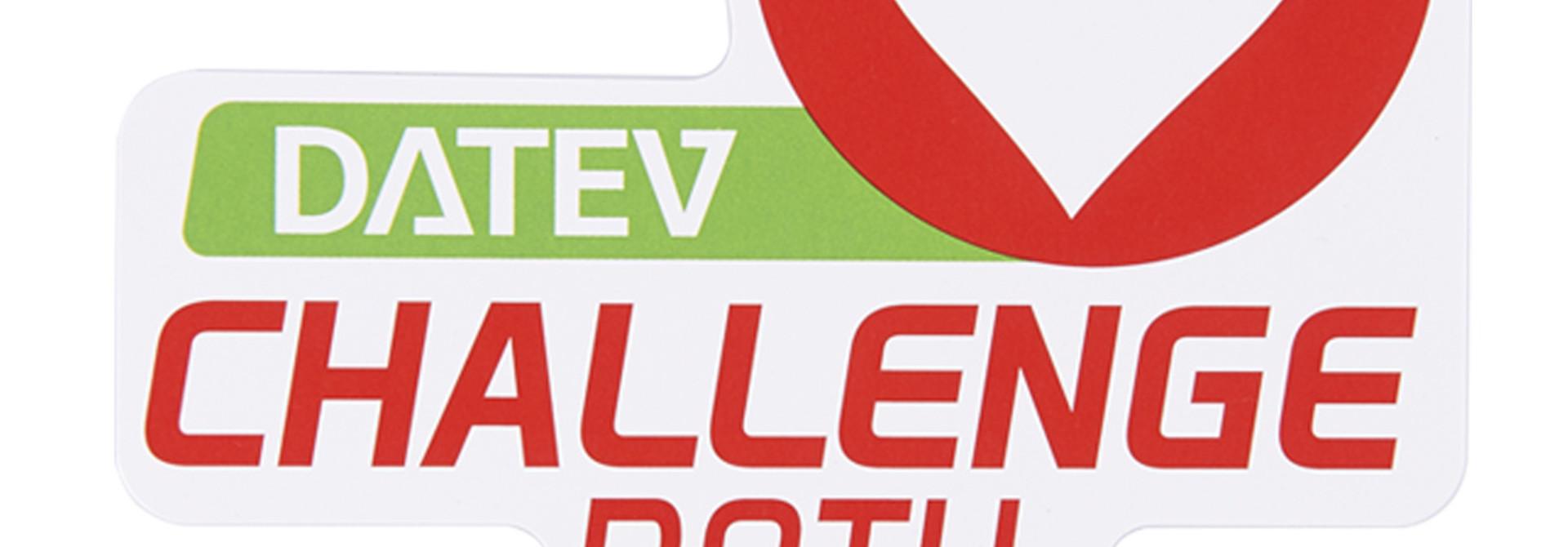 Sticker DATEV Challenge Roth powered by hep big