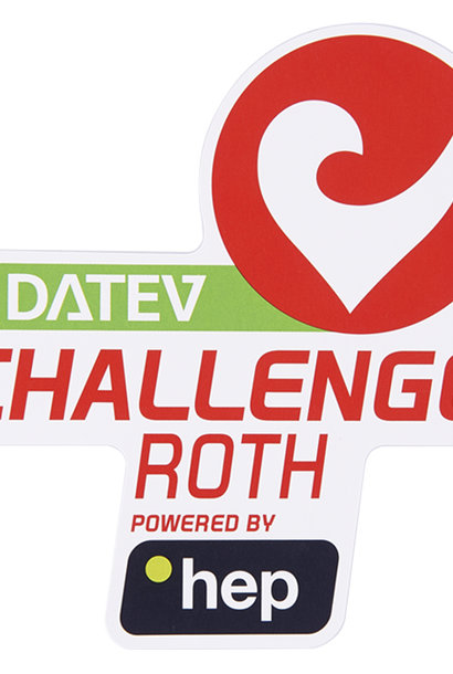 Aufkleber DATEV Challenge Roth p. by hep groß