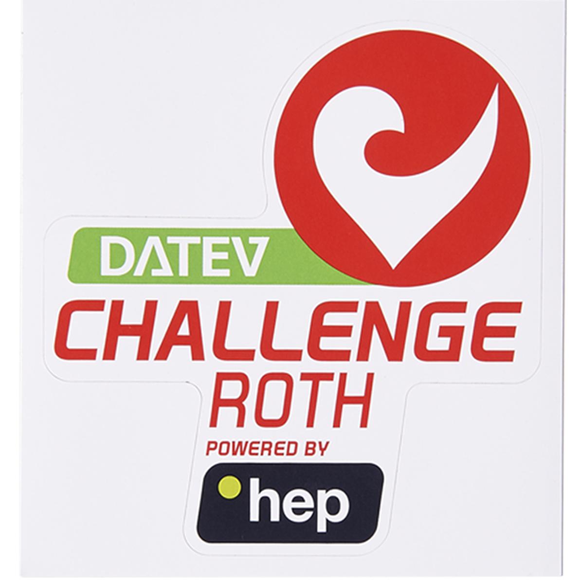 Sticker DATEV Challenge Roth powered by hep big-3