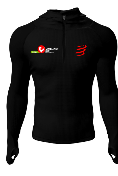 3D Thermo Seamless Zip Hoodie