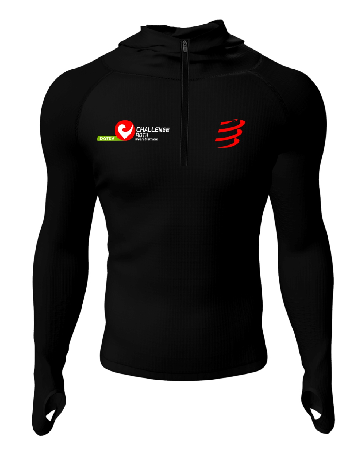 3D Thermo Seamless Zip Hoodie-1
