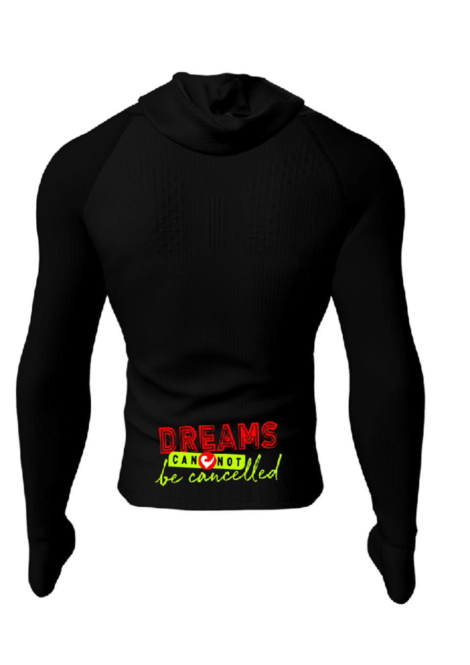 3D Thermo Seamless Zip Hoodie-2