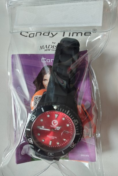 Madison Armbanduhr schwarz