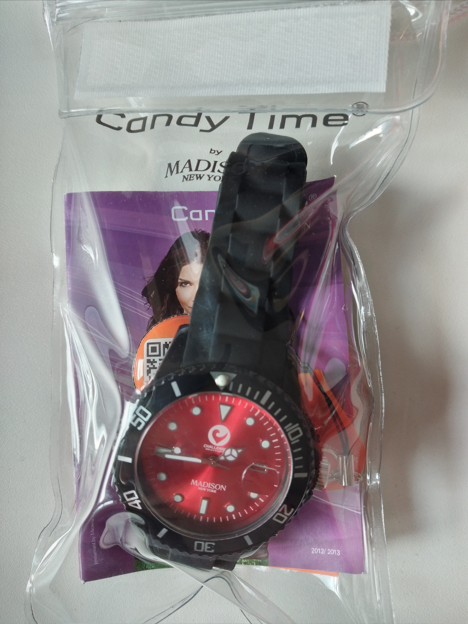 Madison watch black, Candy Time-1