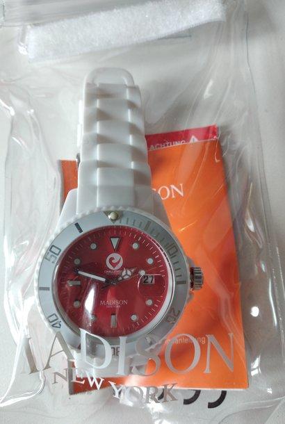 Madison Watch white